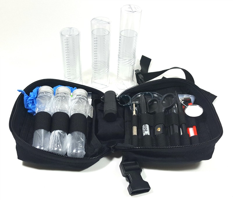 IED Forensics Kit available for immediate shipping from EOD Gear - Training Center Pros, Inc.  An SDVOSB specializing in EOD, IED Training and Gear.
