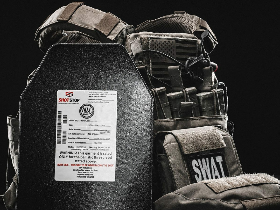 Lightweight Rifle plates that float in water and are NIJ Certified with a 15 Year Warranty